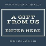 100% Refund on your order at Parrot Essentials