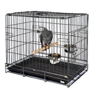 Parrot Travel Cage - Parrot Essentials